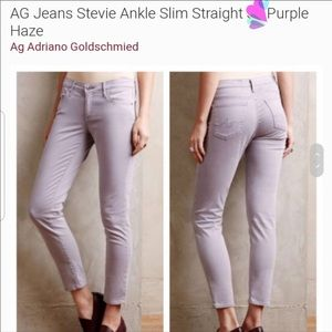 AG Jeans Adriano Goldschmied The Stevie Purple 25